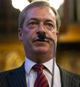 IF EVER THERE WAS A THOUGHT THAT NIGEL FARAGE HAS OR HAS NOT BECOME UNHINGED, IT IS NOW PUT FIRMLY BEYOUND DOUBT