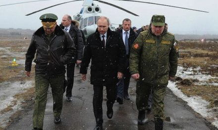 Russia Builds Up Army Near Ukraine Border