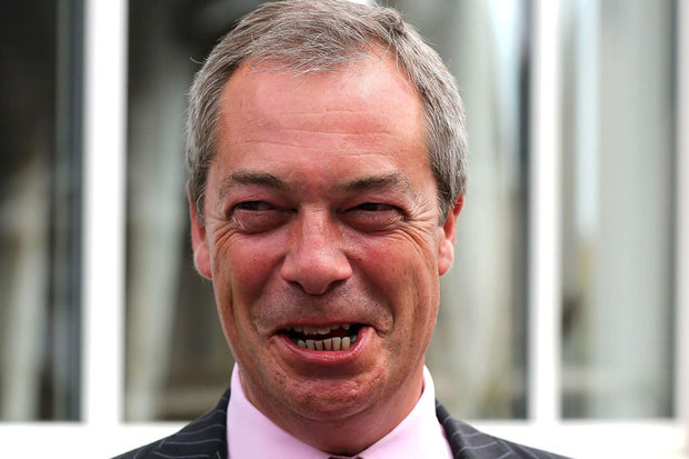 Farage's fascist past? Nigel boasted about his NF initials and sang 'gas them all', claims school friend