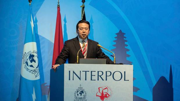 CHINESE SECURITY OFFICIAL PROMINENT IN 'COUNTER-TERROR' DRIVE IN TIBET IS APPOINTED INTERPOL PRESIDENT