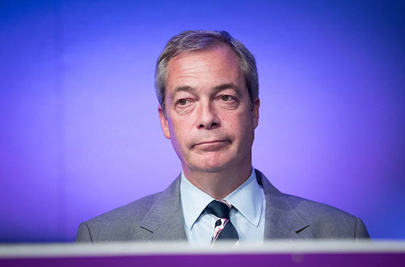 'I fear for my life' says Nigel Farage as the UKIP leader fears violent attacks every day