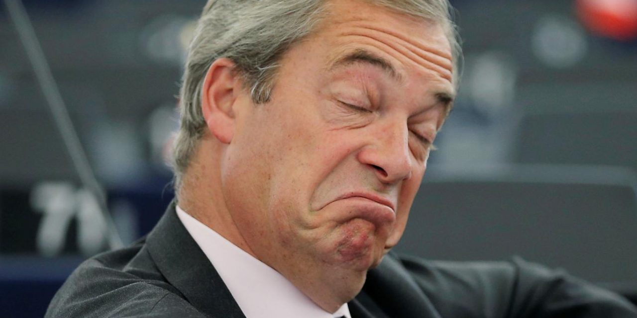THE FREE WORLD CALLS FOR NIGEL FARAGE TO BE ARRESTED