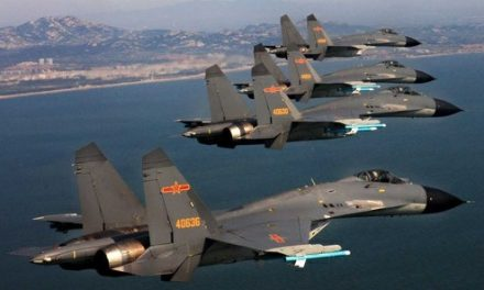 Taiwan says China air force conducts long-range drills