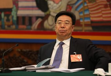 China's Communist Party Secretary for Tibet, Wu Yingjie, says party control over religion in Tibet will only increase