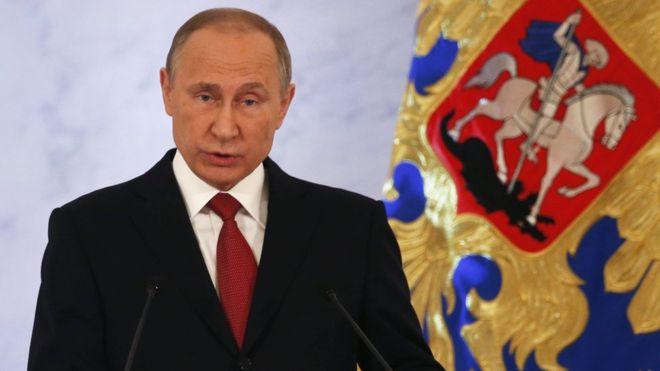 Russia 'not seeking conflict' – Putin tells nation