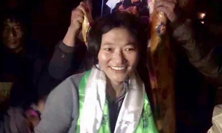 Tibetan woman falsley imprisoned by Chinese occupying forces, freed from prison in poor health after 3yr sentence