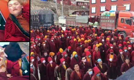Forced Eviction From Buddhist Institute In Tibet Leave Nuns In Shock