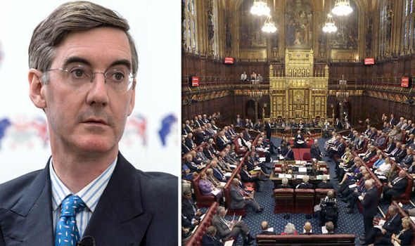 Out of Touch Clown Rees-Mogg calls for 1,000 pro-Brexit peers amid fear Lords could DEFY parliamentary rules