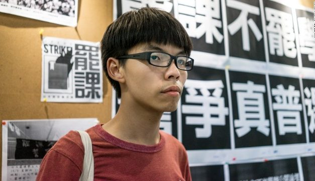 Hong Kong activist Joshua Wong under police protection after failed assault in Taiwan