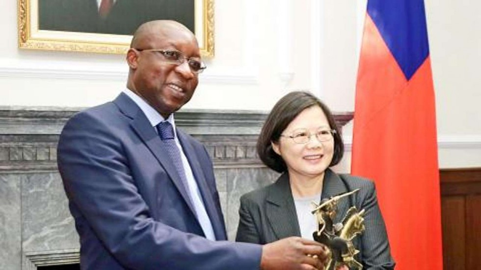 Taiwan thanks African ally for rejecting diplomatic advances from Beijing