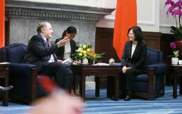 Taiwan President reiterates that Taiwan stands firm against Beijing pressure