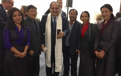 Exile Tibetan Government Lobby for Tibet at United Nations, Geneva