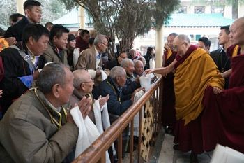 Spiritual leader to Tibetan pilgrims: 'This teaching is principally for you'
